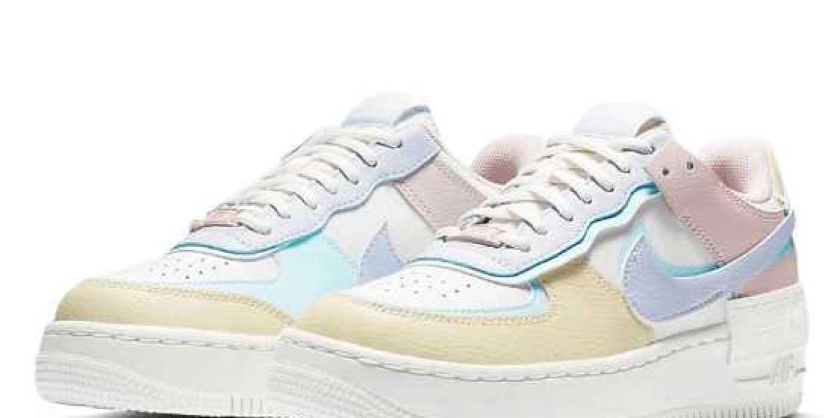 Did You Get One Pair Nike Air Force 1 Shadow Pastel ?